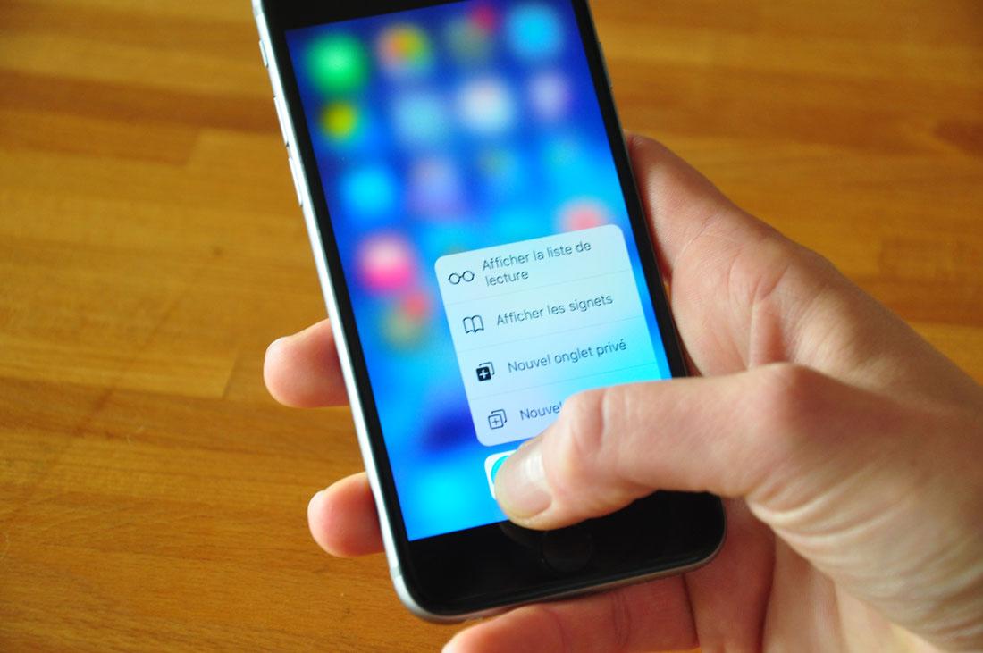 Test de l'iPhone 6S