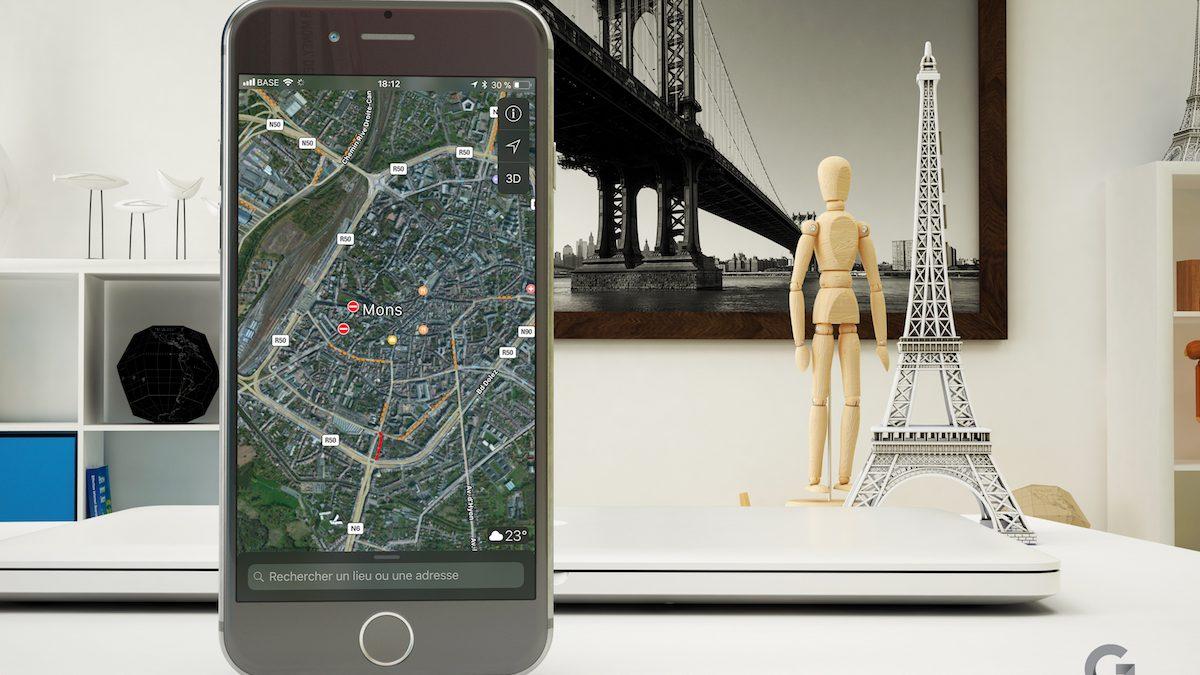 [Astuce] Zoomer à un seul doigt sur Apple Plans