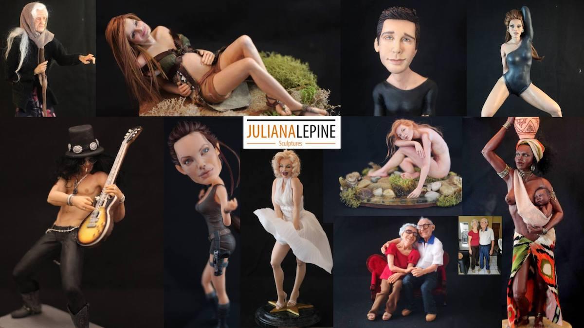 Les magnifiques sculptures de Juliana Lepine