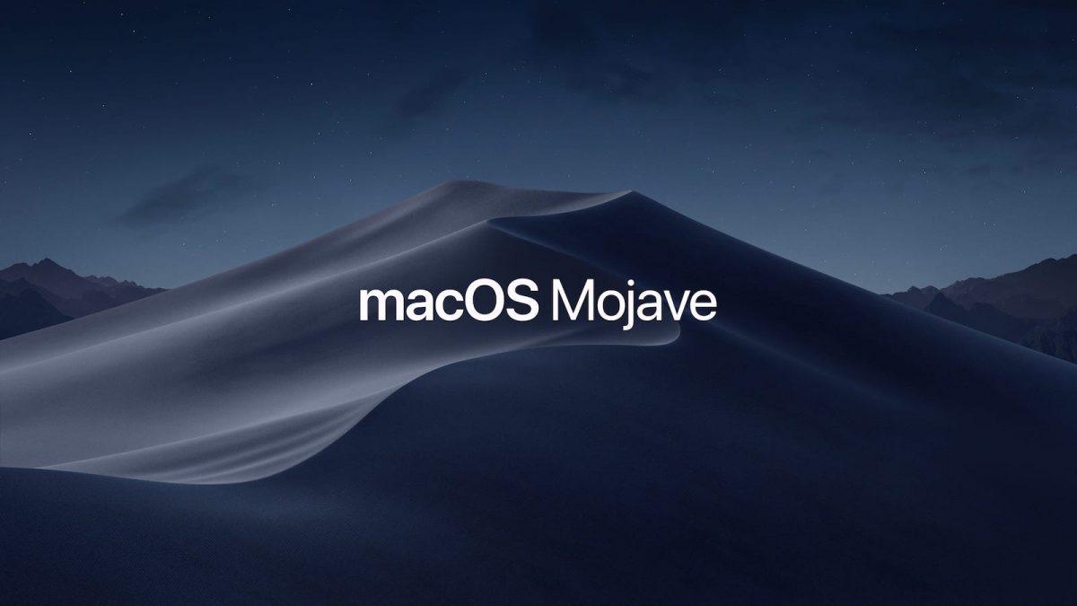 macOS Mojave: le boulot n'est pas terminé