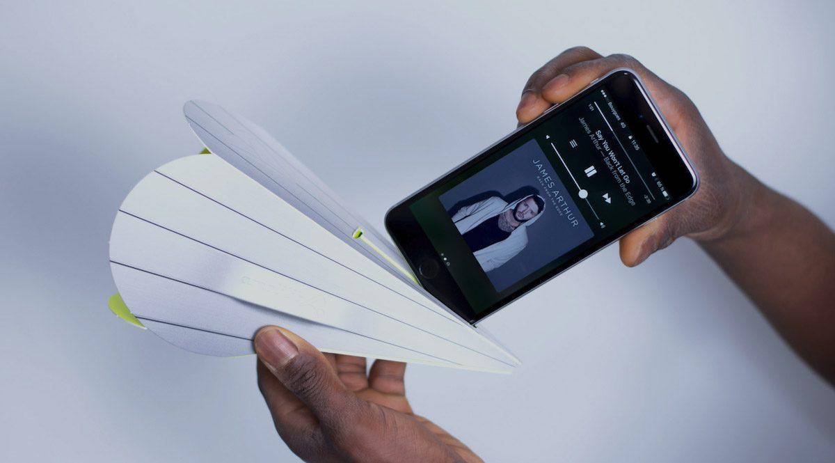 Amphilib, l'amplificateur de son pour smartphone